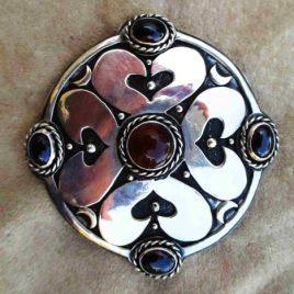 Shamrock Heart Brooch & Pendant