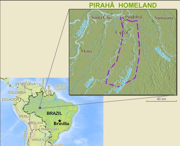 Pirahã Homeland